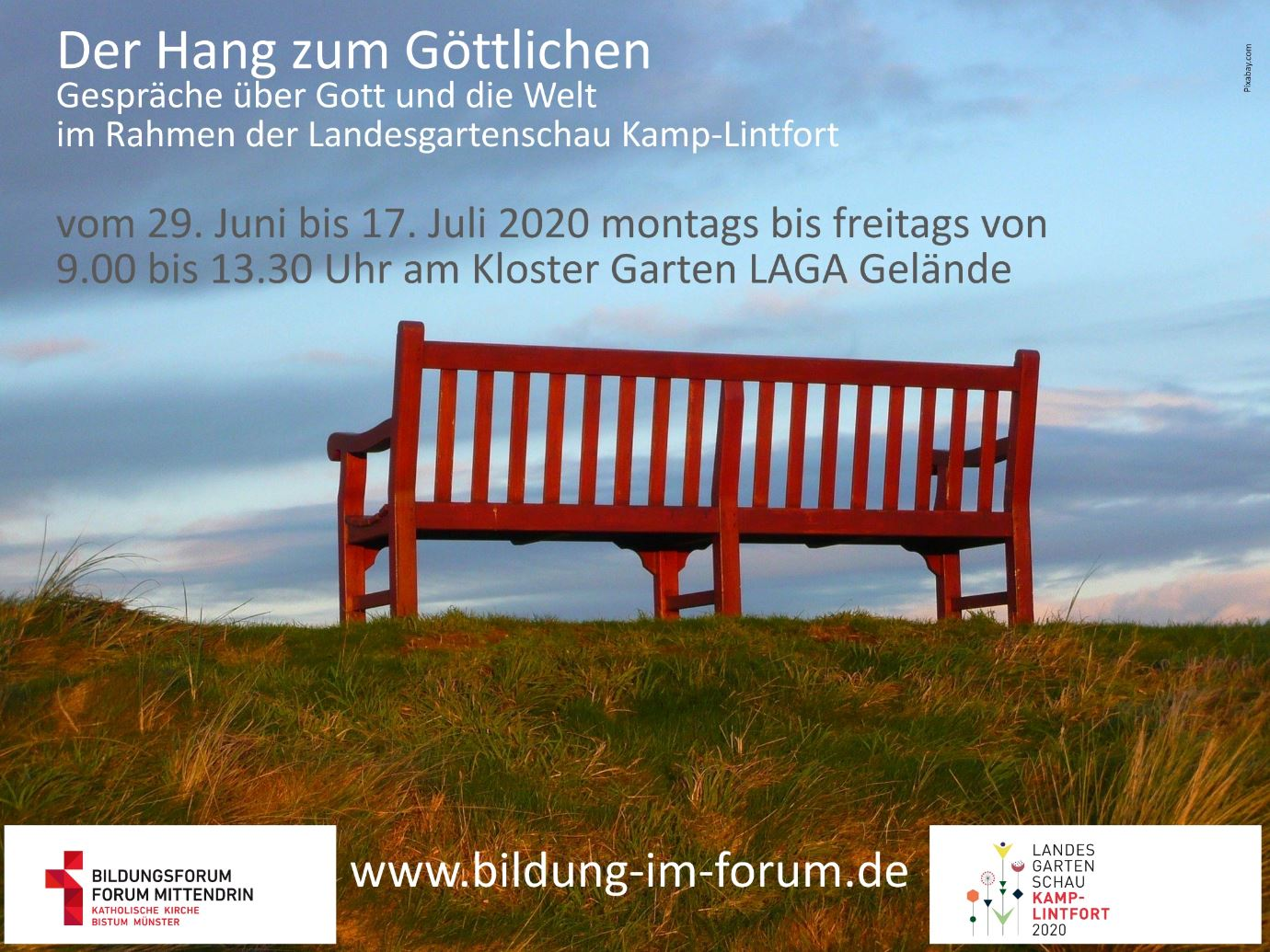 Forum Mittendrin auf der Landesgartenschau